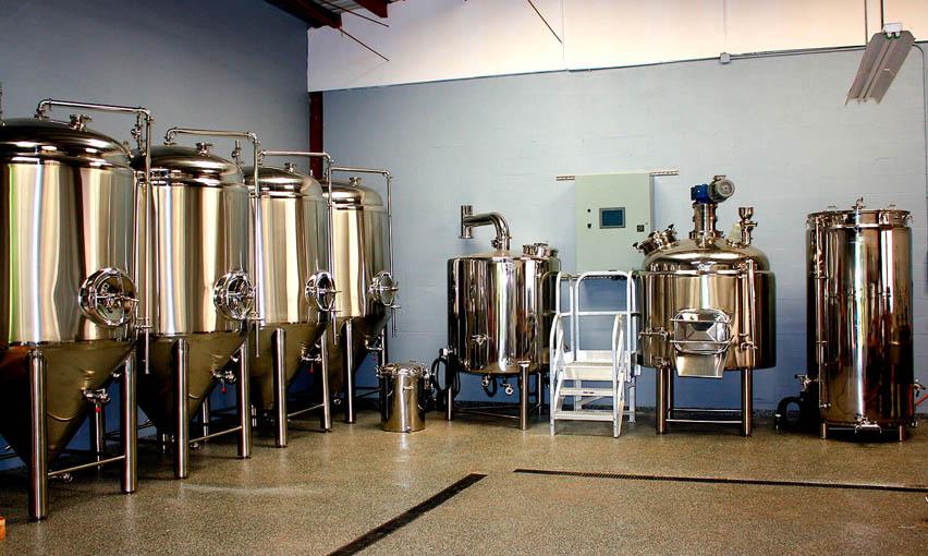 микро пивоварня