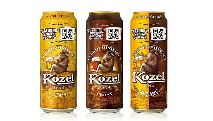 Velkopopovický Kozel beer