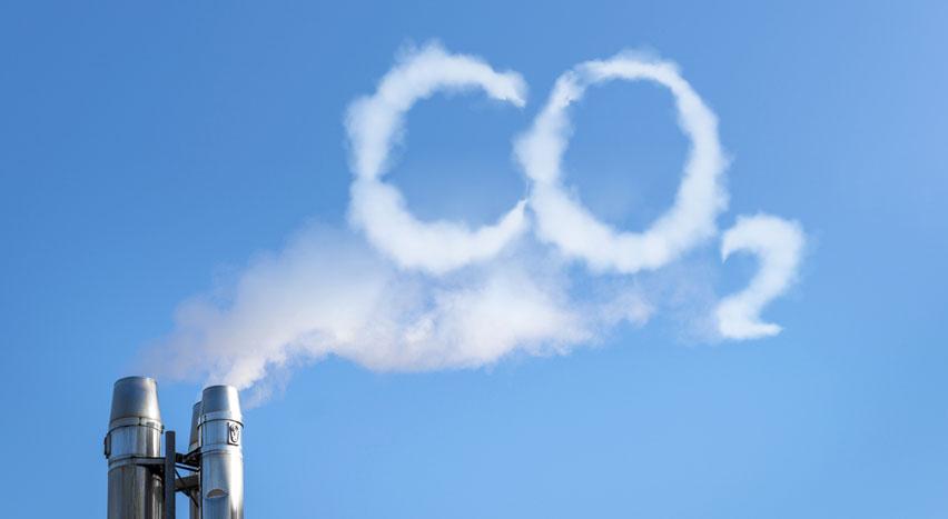 выброс углекислого газа