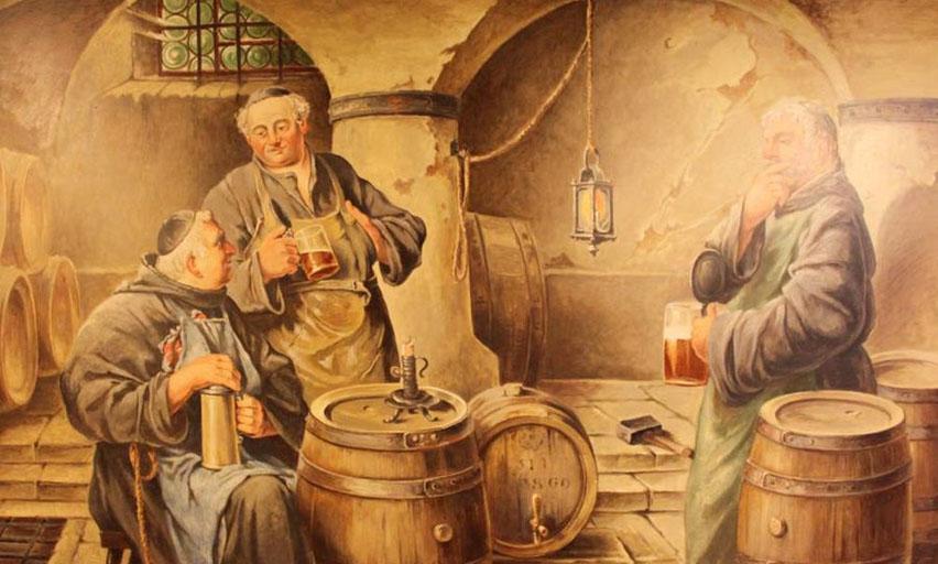монахи пиво