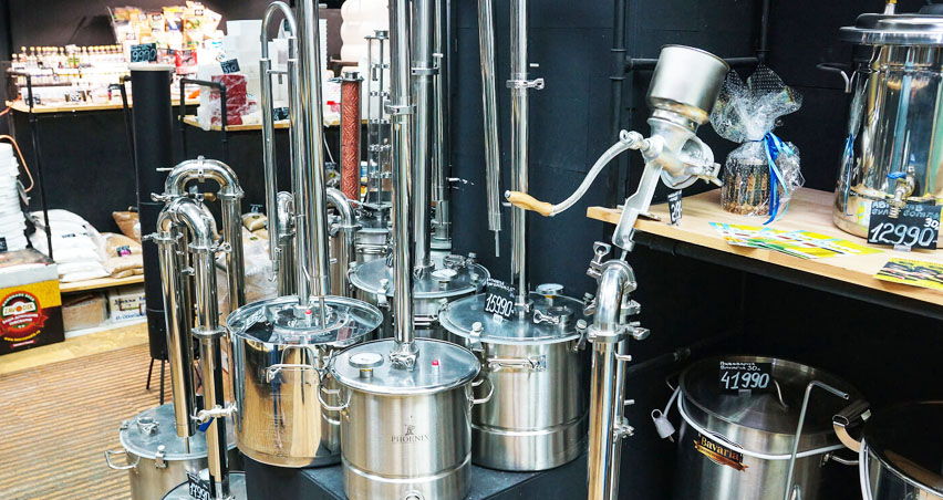 оборудование для домашнего пивоварения
