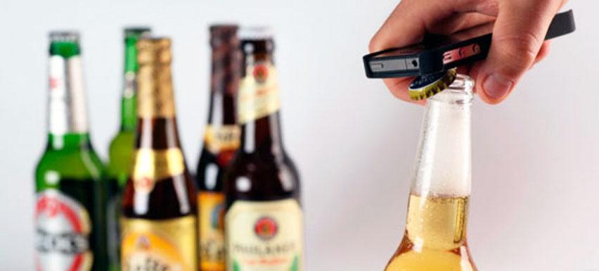 вскрытое пиво
