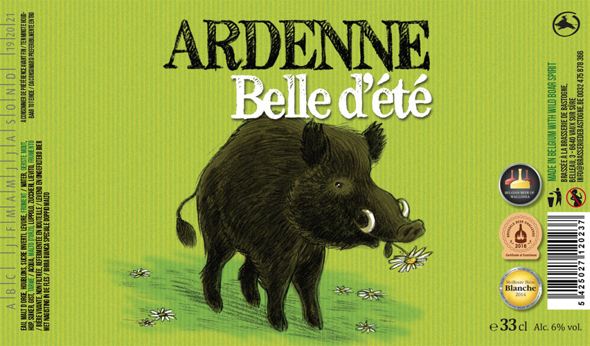 Ardenne Saison Brasserie Minne