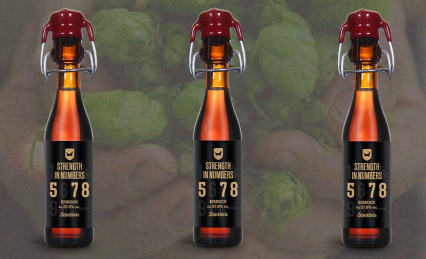 beer Strenght in numbers