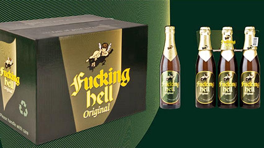 упаковка пива Fucking Hell