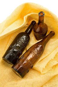 старинный бутылки пиво