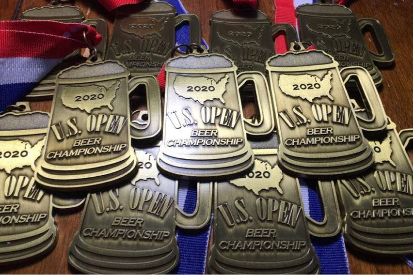медали U.S. Open Beer Championship 2020