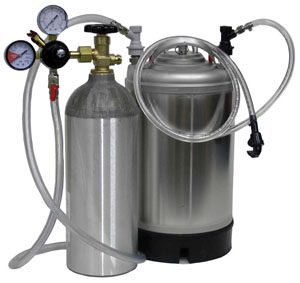 Как работать с газом при розливе пива?