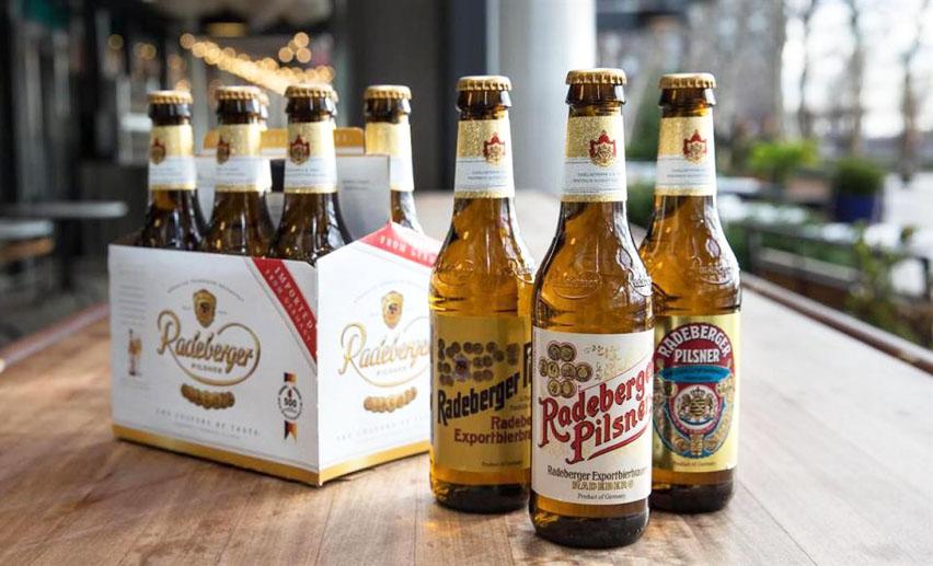 немецкое пиво Radeberger Pils