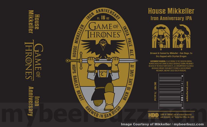 этикетка пива игра престолов