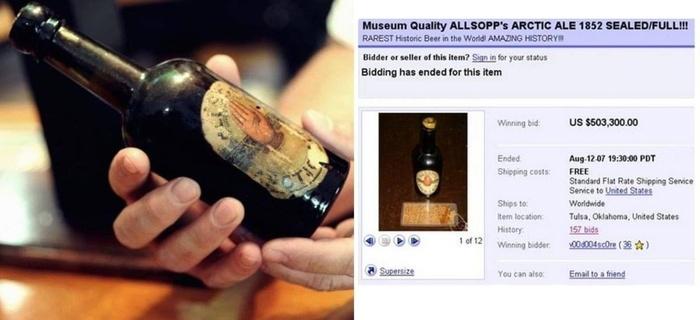 Allsopp's Arctic Ale аукцион