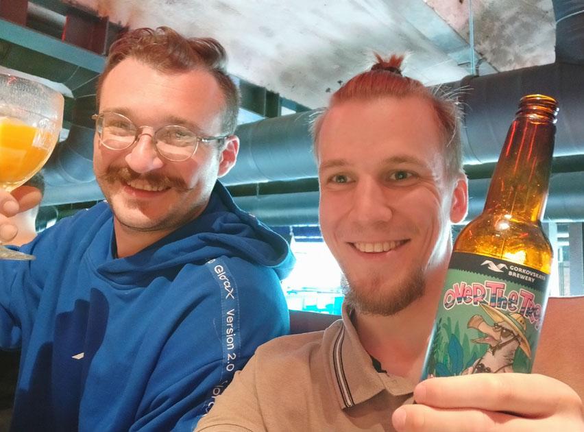 пиво Over the Tropix