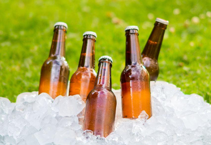 пиво во льду