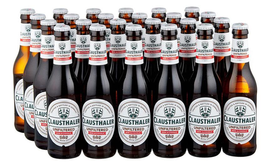 clausthaler в бутылке