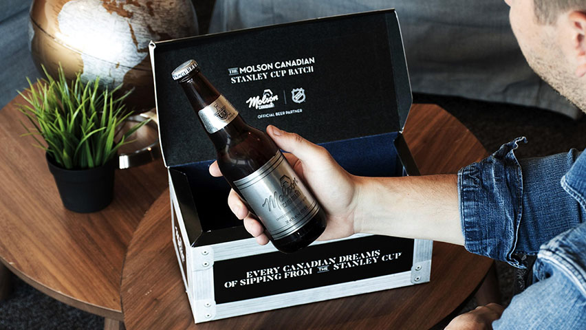 Molson Canadian Stanley Cup Batch