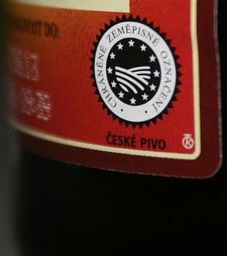 значок чешского пива