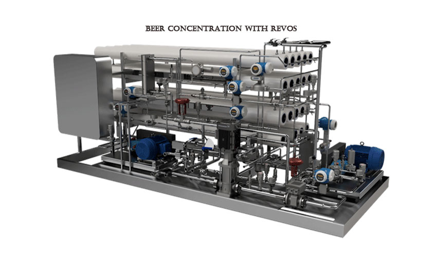Beer Concentration with Revos