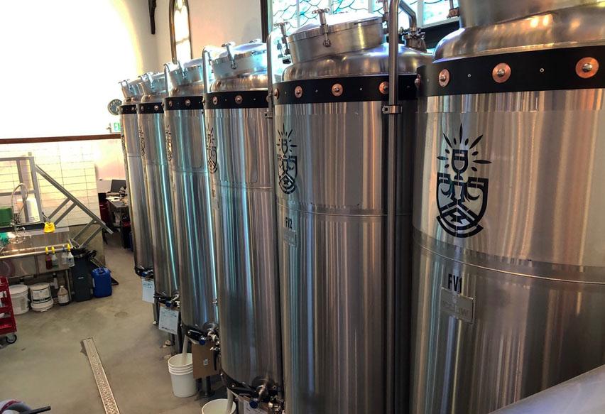 пивоварня в церкви