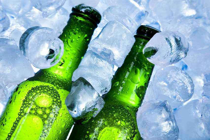 пиво на льду
