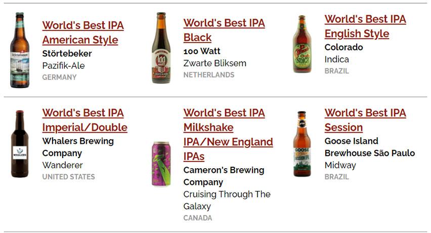ipa world beer awards 2021